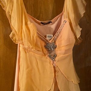 Arden b dreamsicle blouse